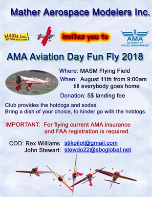 2018 AMA Aviation Day Fun FLy